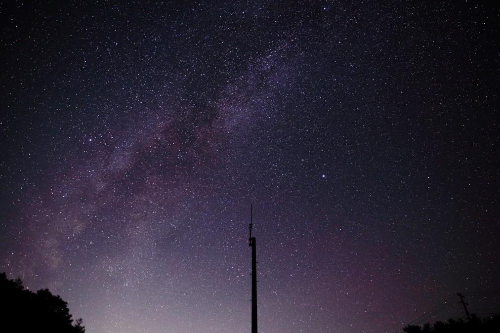 阿智村の星空の写真