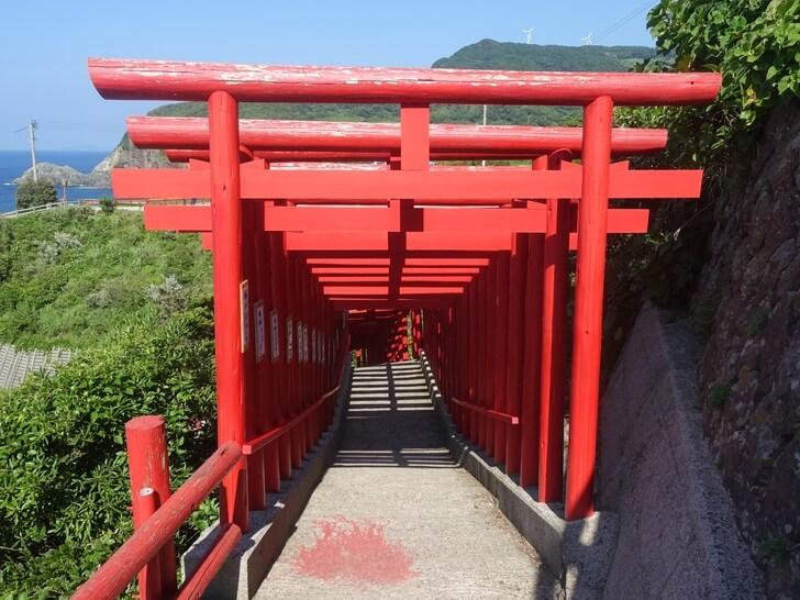 元乃隅稲成神社の鳥居の写真その1