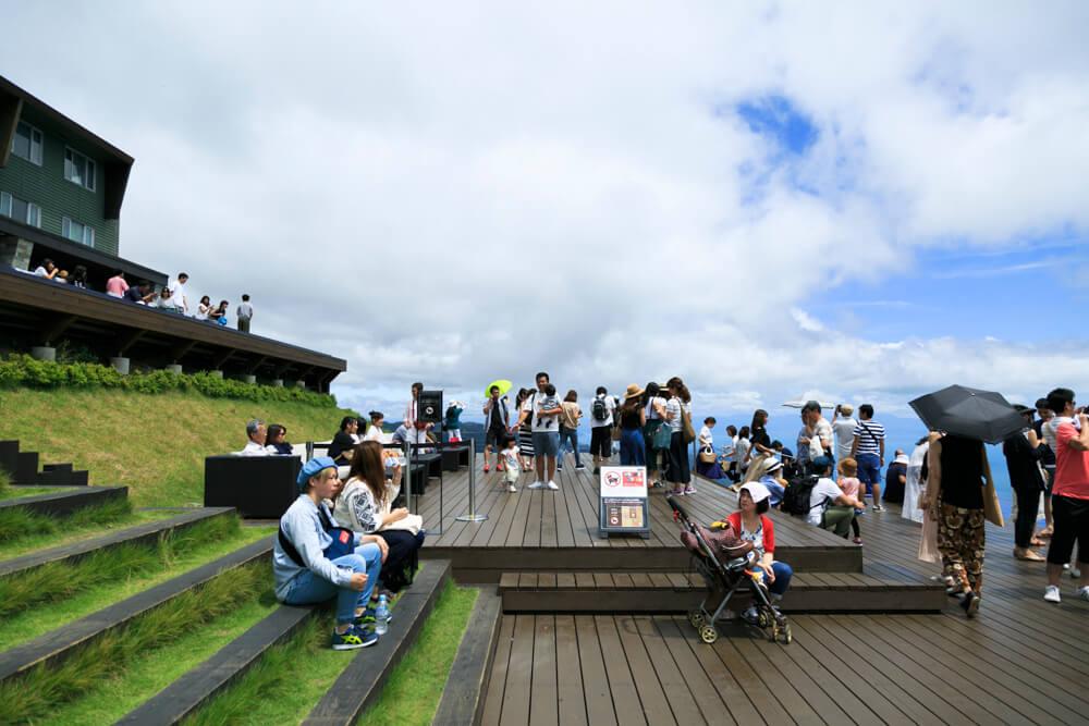 びわ湖テラス2階席の写真