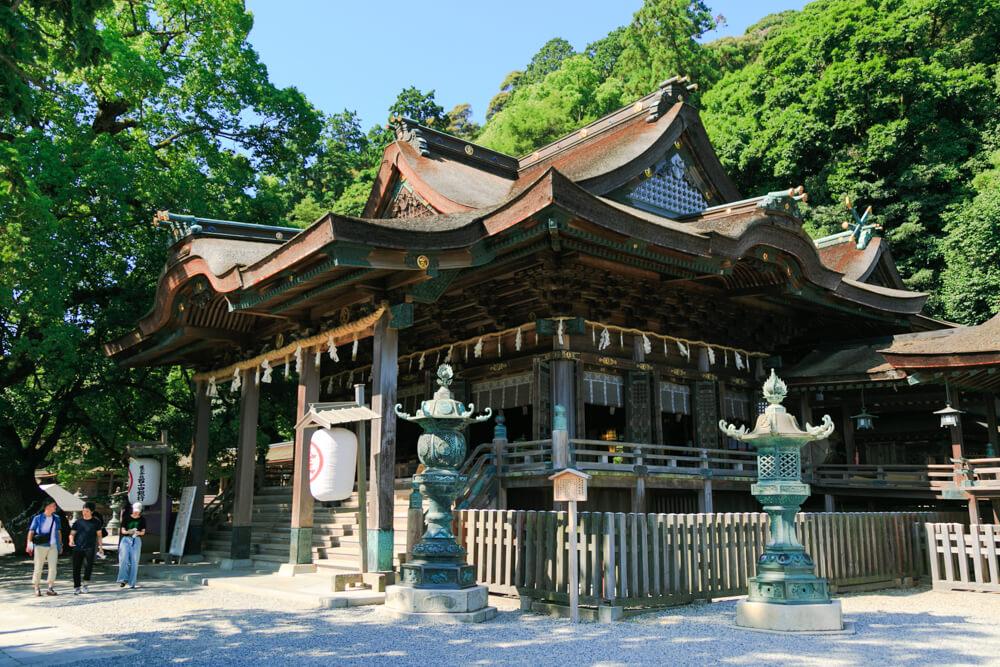 香川県にあるこんぴらさん(金刀比羅宮)の写真