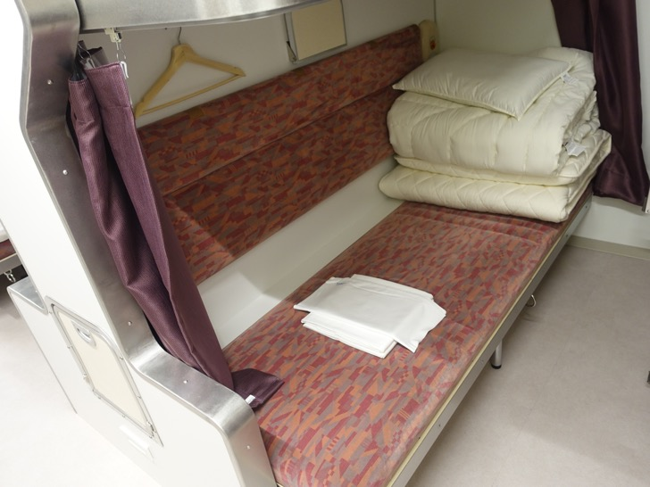 トレインホステル北斗星の個室の写真
