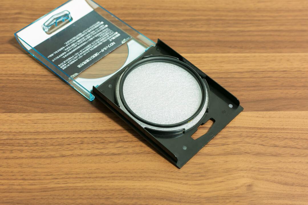 レンズプロテクター(レンズ保護フィルター)の写真