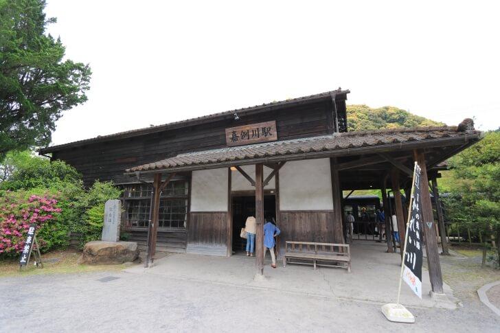 九州旅客鉄道肥薩線の嘉例川駅の写真