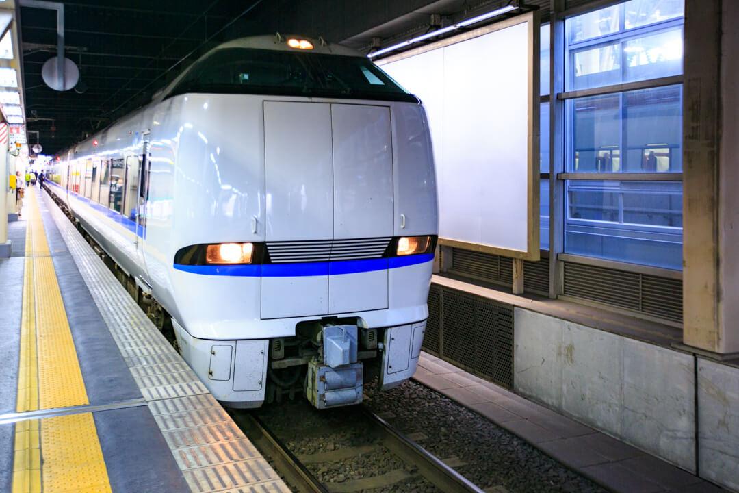 特急電車サンダーバードの写真