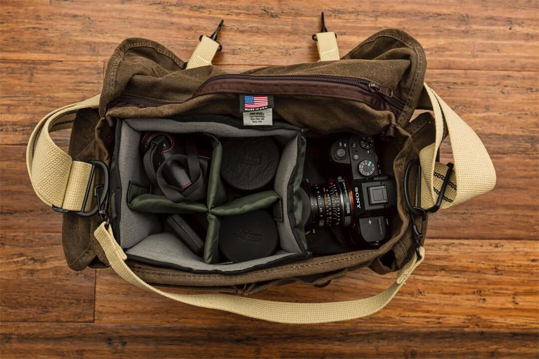 DOMKEのカメラバッグの写真