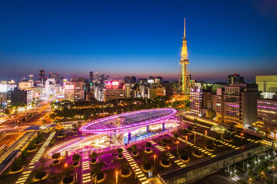 名古屋の夜景撮影スポットまとめ