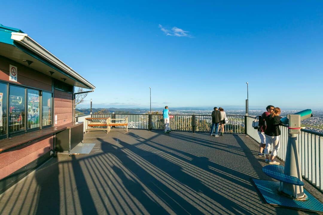 金華山展望台の写真