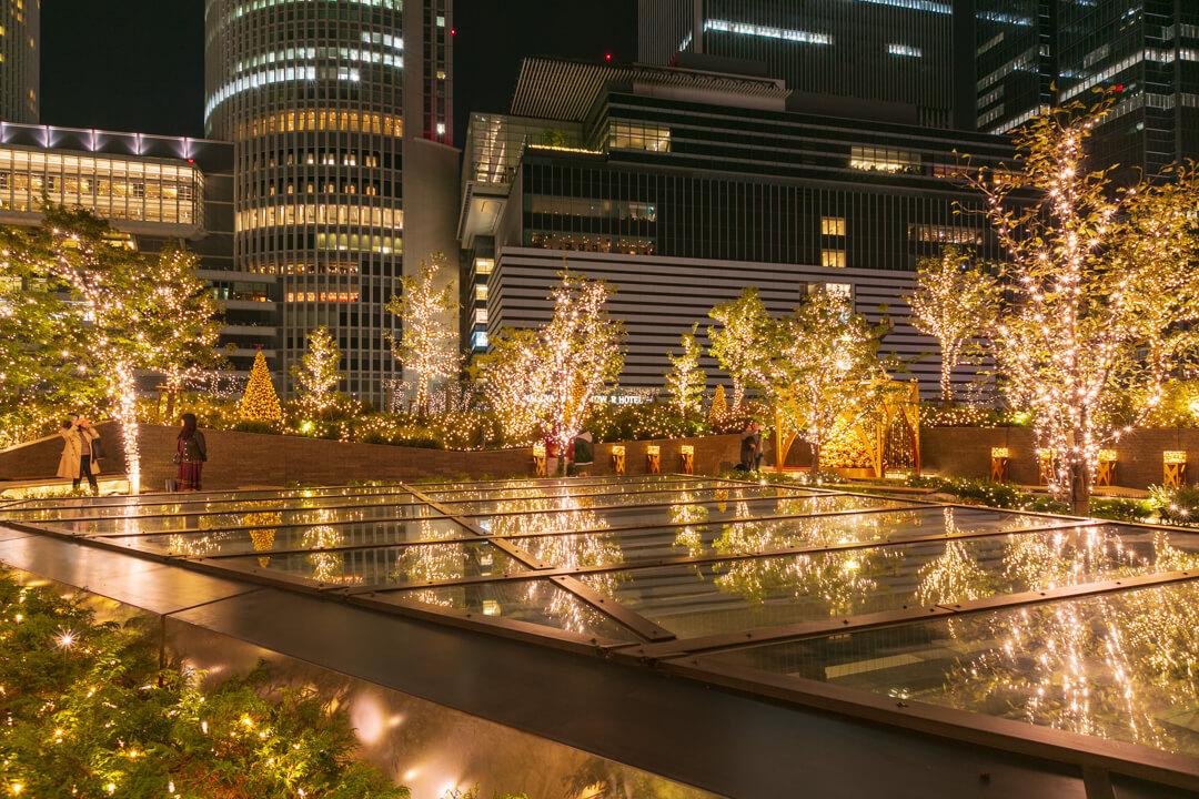 大名古屋ビルディングのイルミネーションの写真