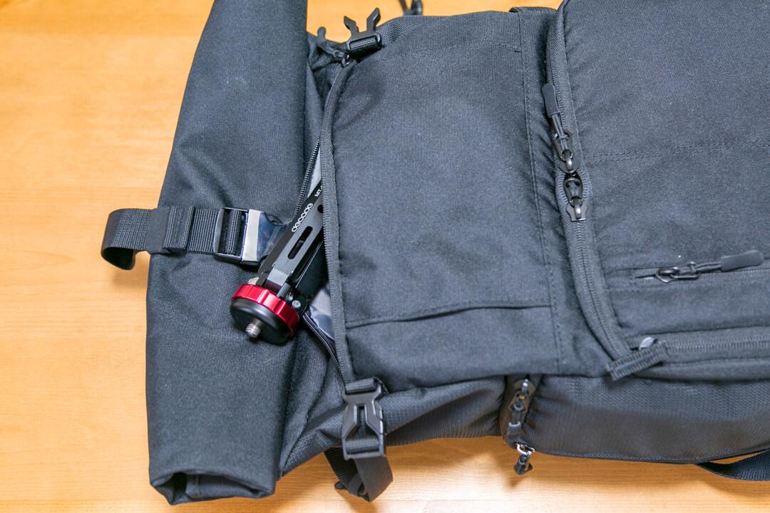 エンデュランスext(エクステンド)の収納ポケットその1