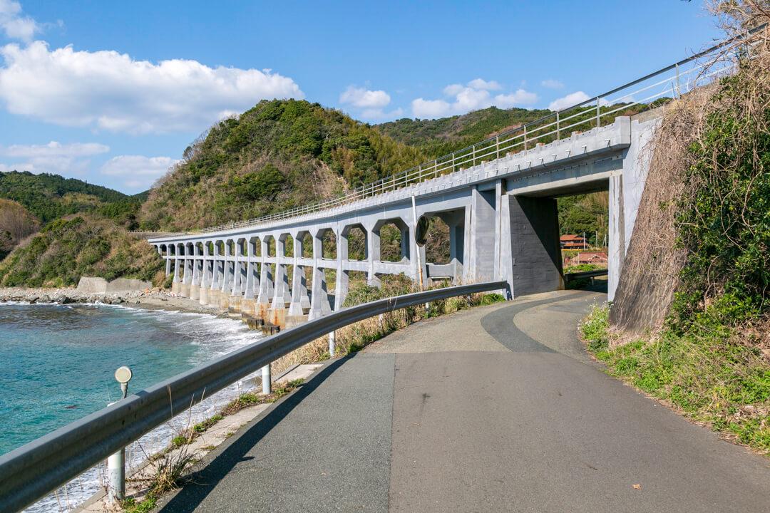 惣郷川橋梁の写真