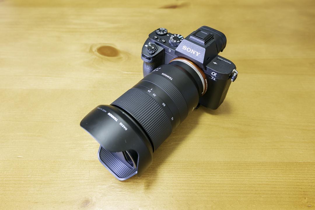 TAMRON 28-75F2.8 Di III RXDの写真