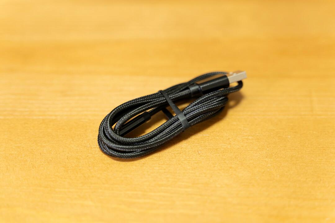 RAVPower「RP-PC069」に付属するUSBケーブル