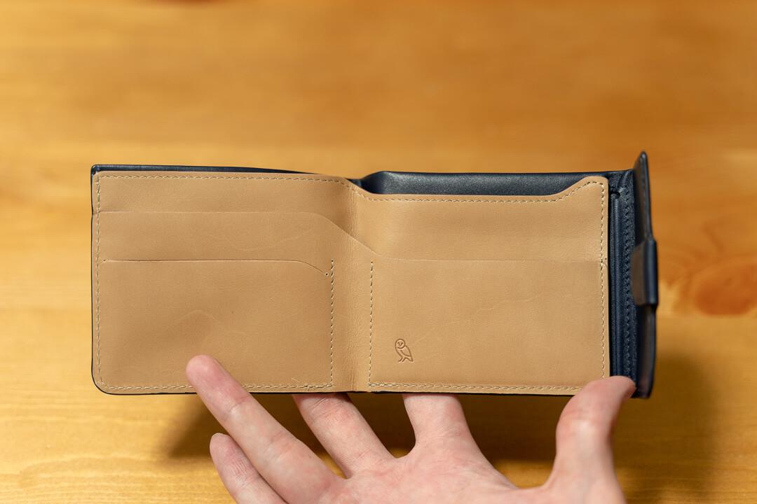 Bellroy(ベルロイ)コインフォールドの財布の中身