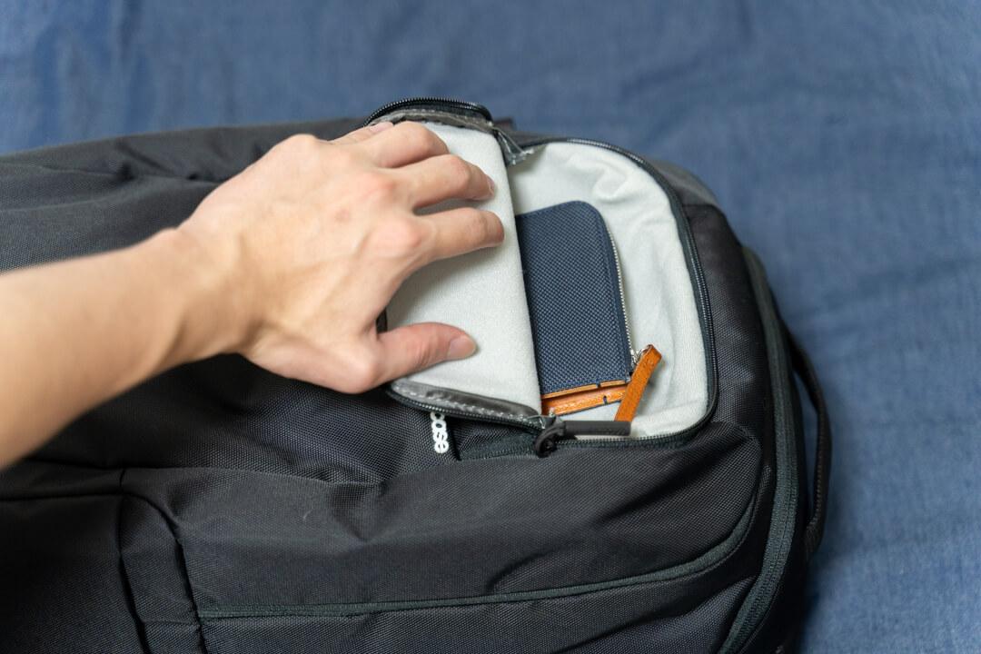 Incase(インケース) DSLR Pro Pack Nylonのミニポケット