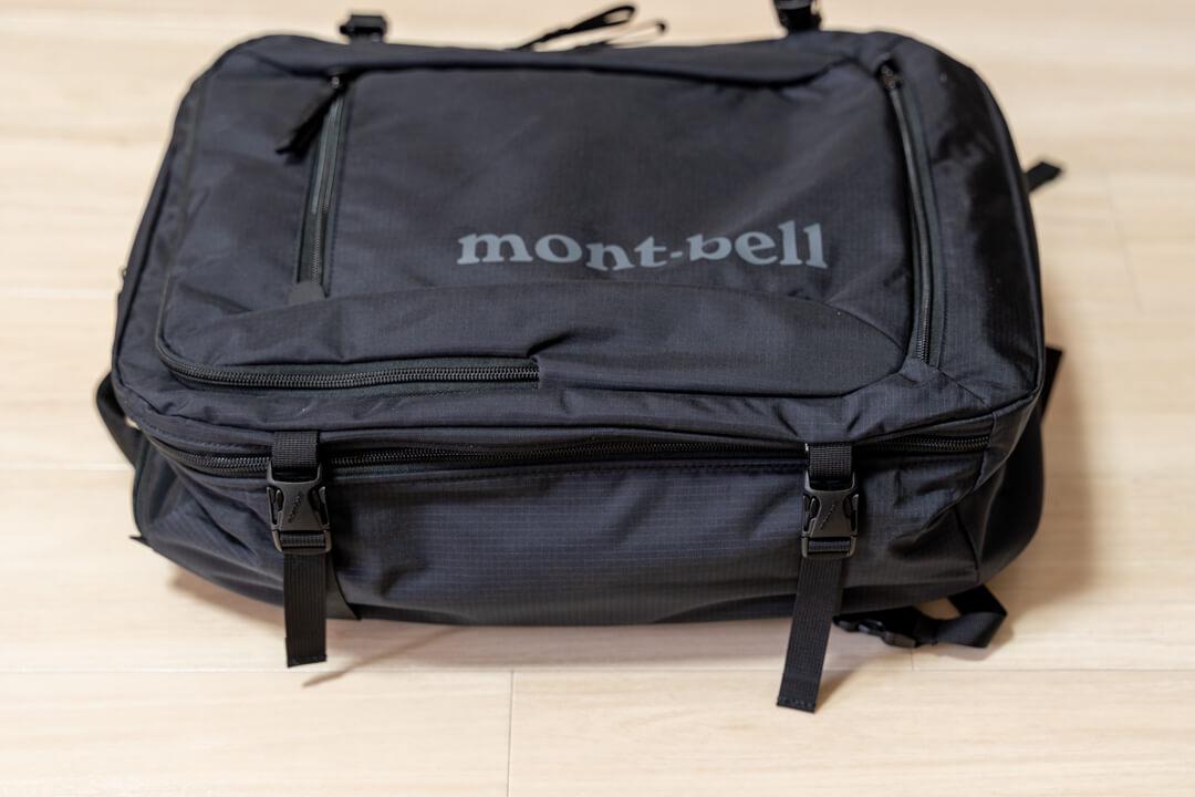 モンベル(mont-bell)トライパック30のサイドベルトの写真