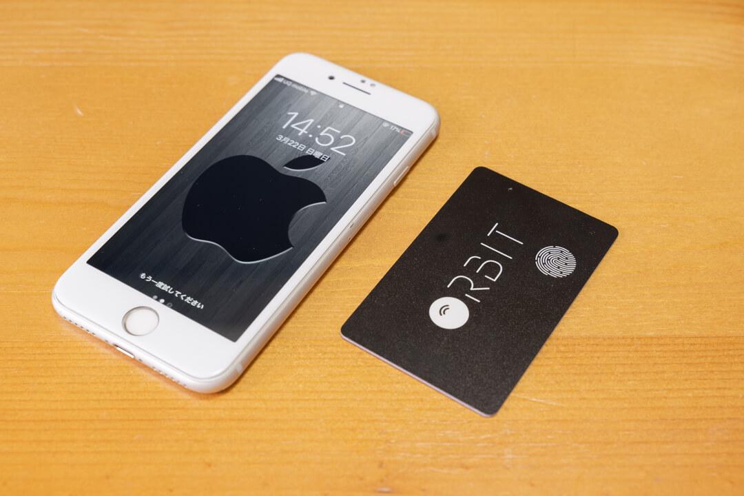 カード型スマートタグFINDORBIT Orbit Card