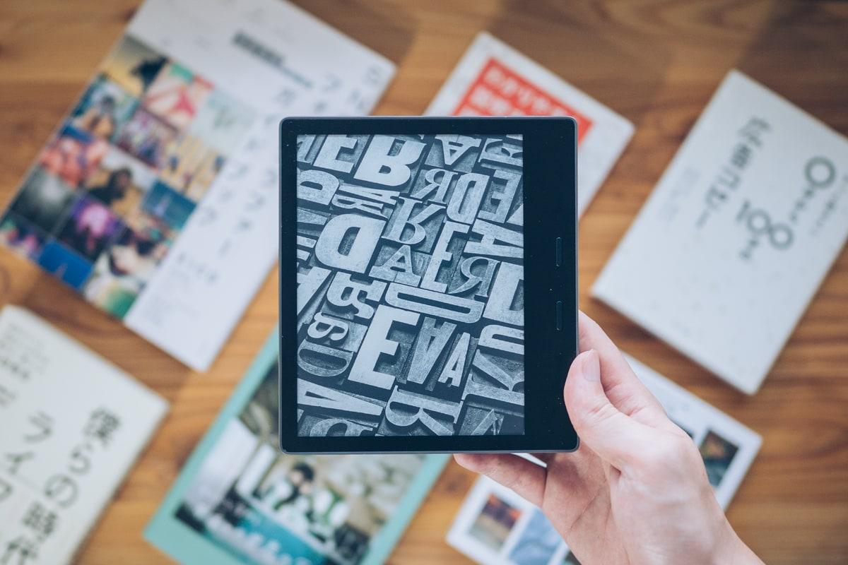 Kindle Oasisの写真