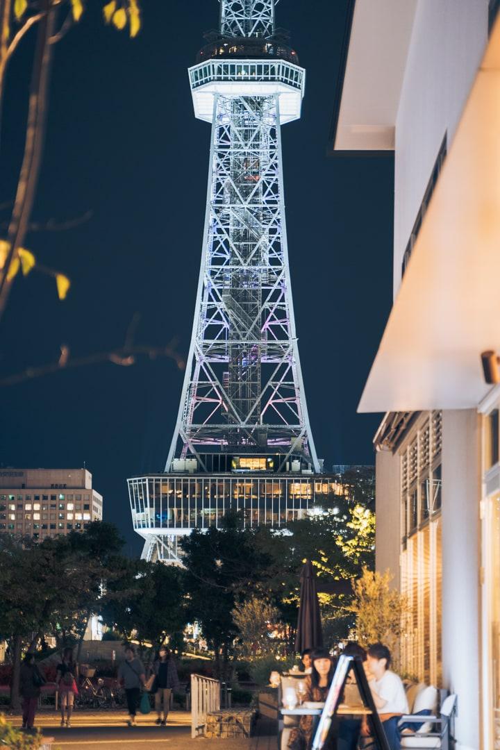 アーバンリゾートゾーンから撮る名古屋テレビ塔