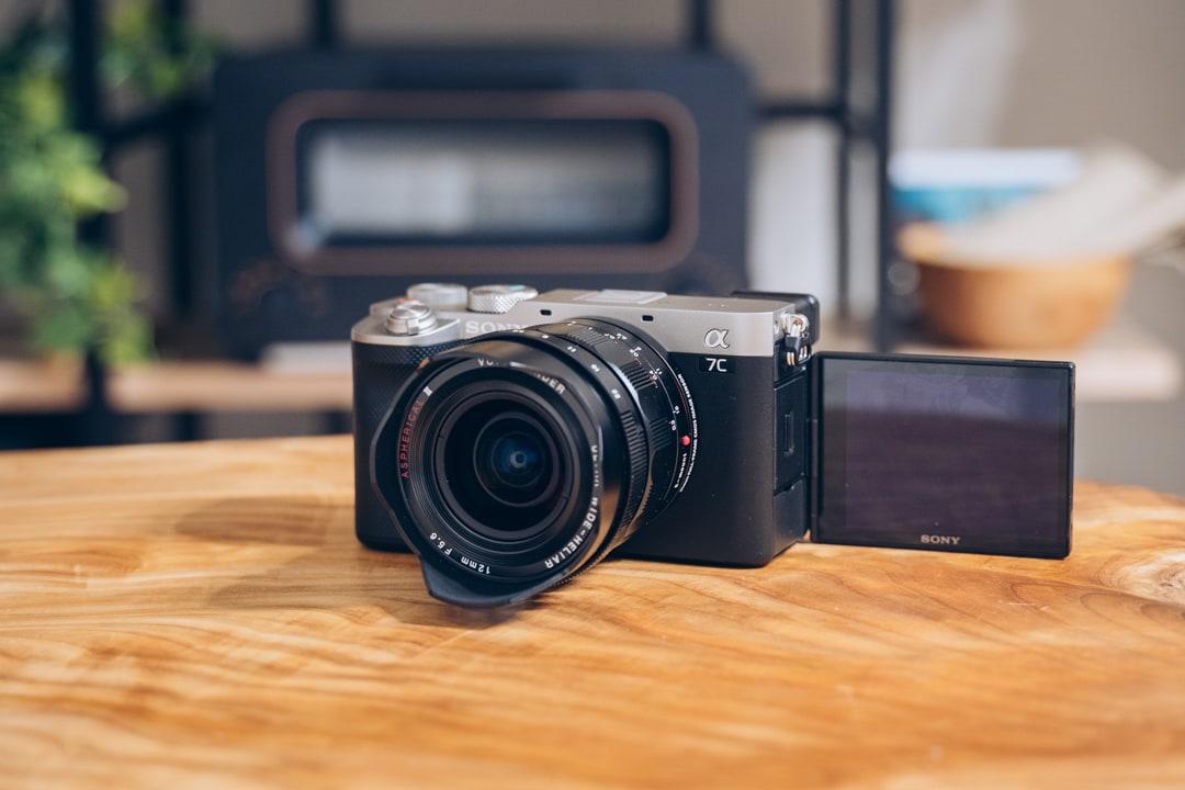 Sony α7Cを撮影した写真