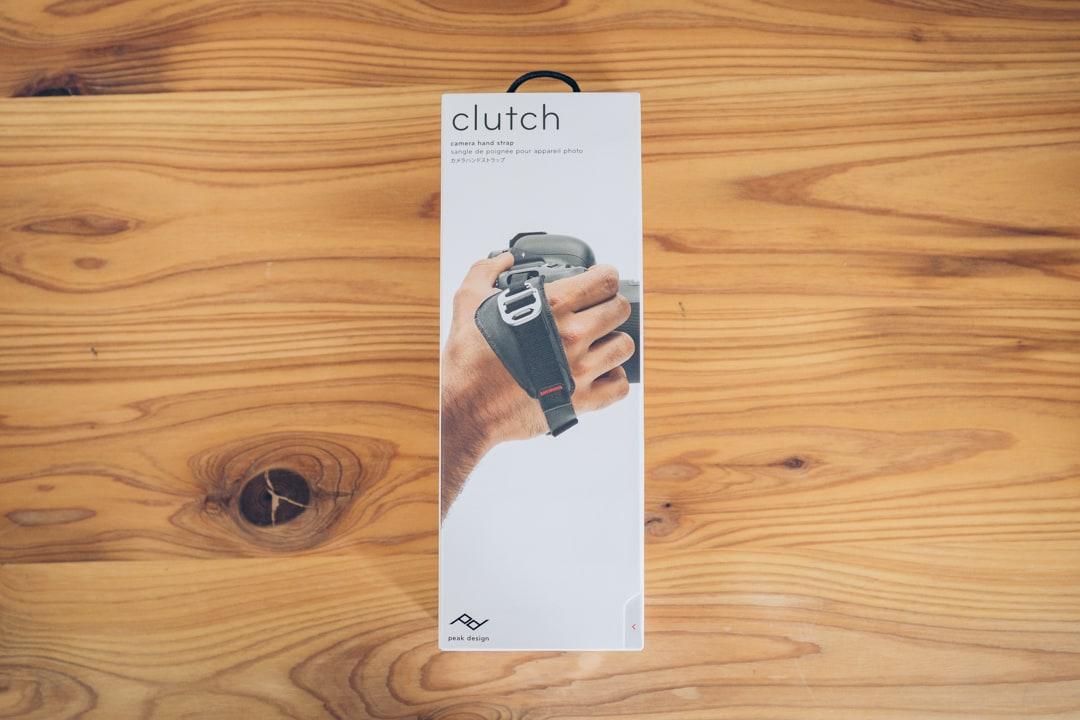 ピークデザイン クラッチのパッケージ