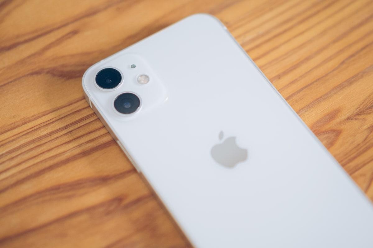 iphone12 miniのカメラ