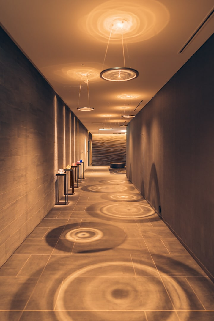 三井ガーデンホテル豊洲ベイサイドクロスの廊下