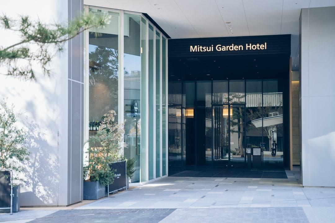 三井ガーデンホテル豊洲ベイサイドクロスのエントランス