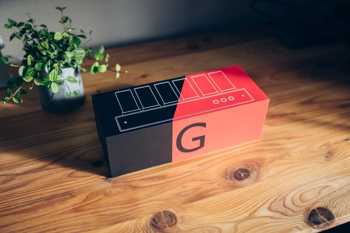 Gixie Clock(ギクシークロック)のパッケージ