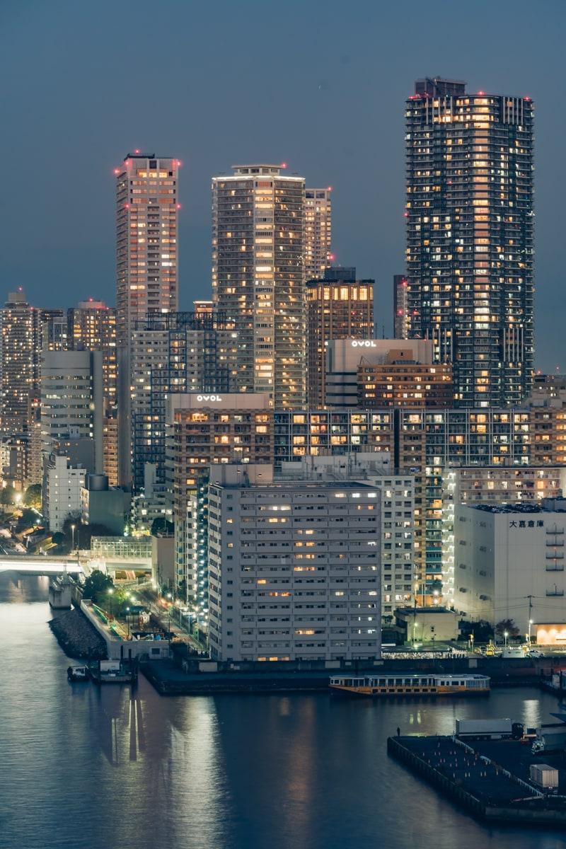 インターコンチネンタル東京ベイから眺める夜景