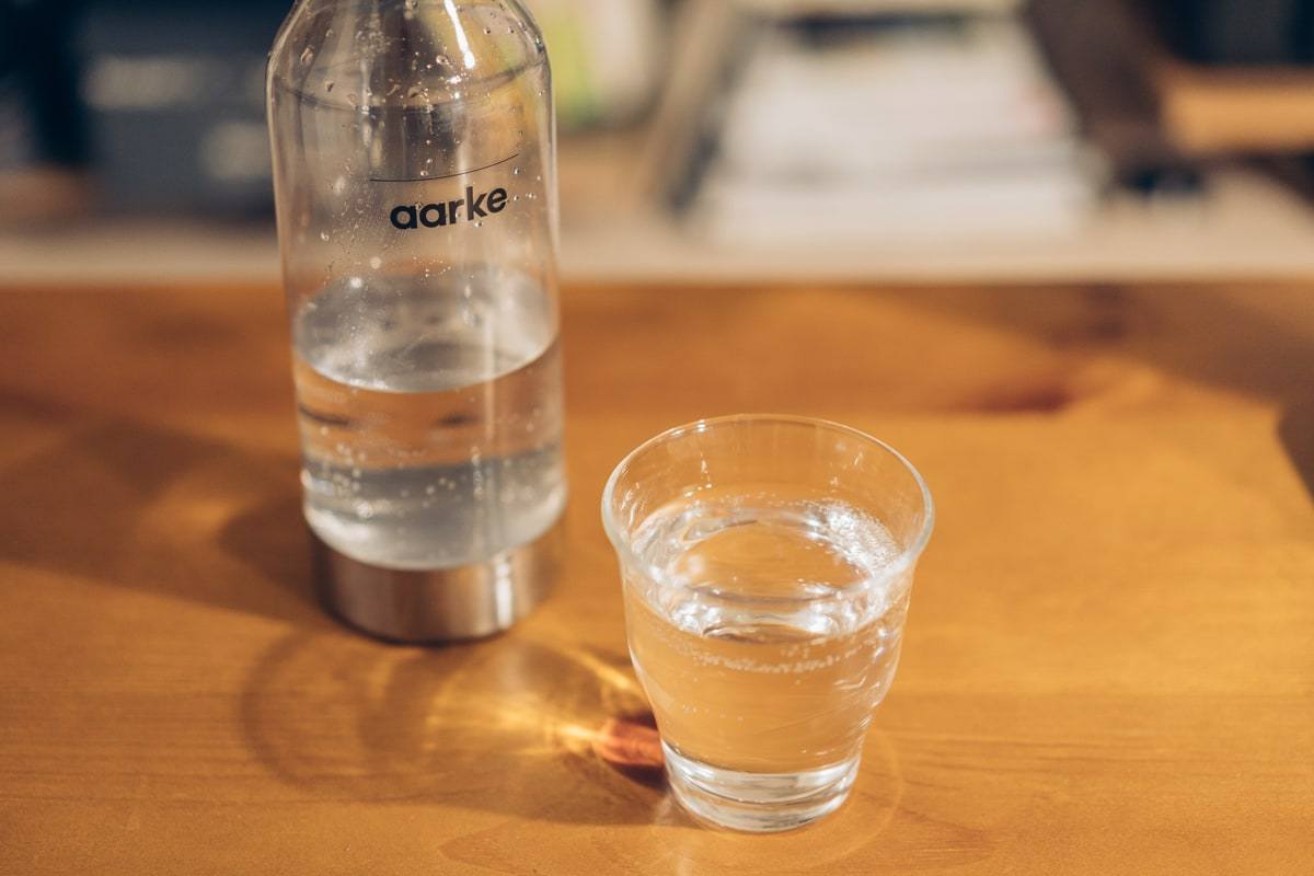 aarke(アールケ)Carbonator IIで作った炭酸水