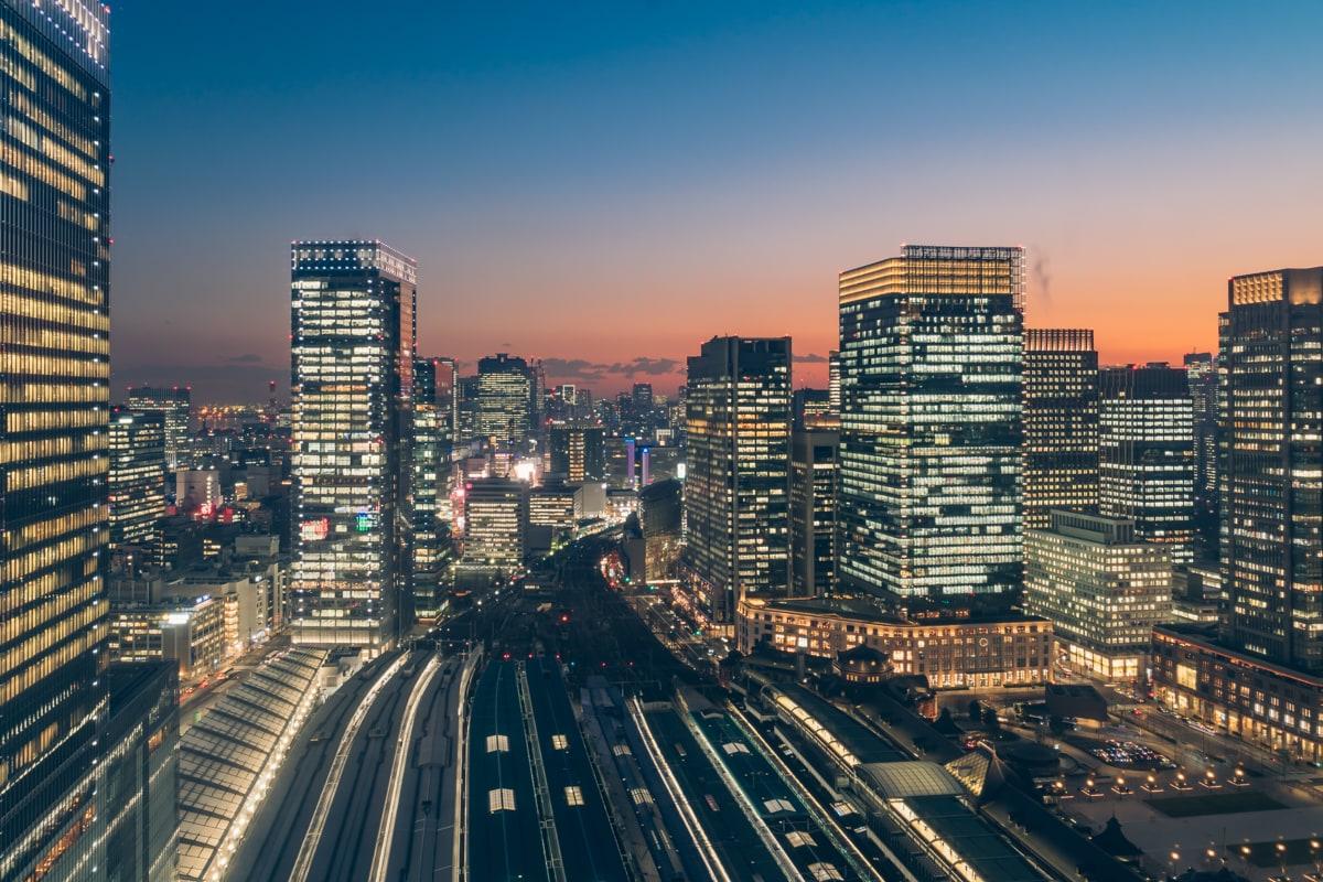 TAMRON 17-28mm F/2.8 Di III RXD (Model A046)で撮影した東京夜景