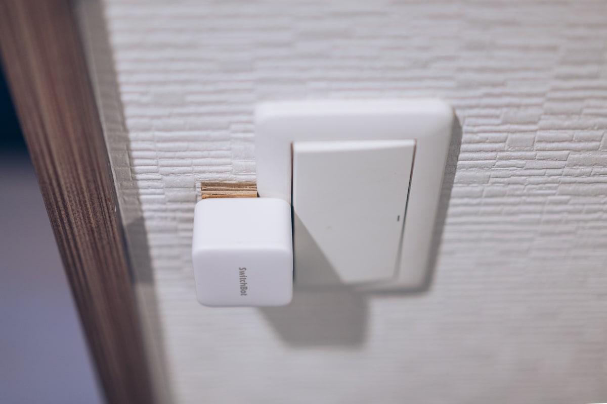 SwitchBotの設置手順