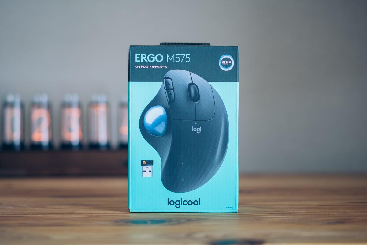 ロジクール ERGO M575の商品パッケージ