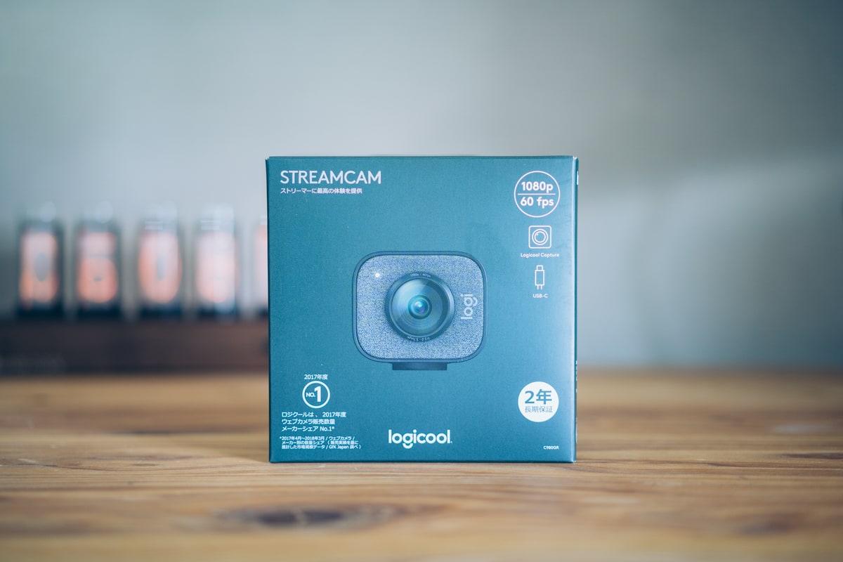 Logicool StreamCam C980の製品パッケージ
