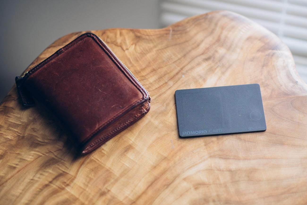 MAMORIO CARDと財布