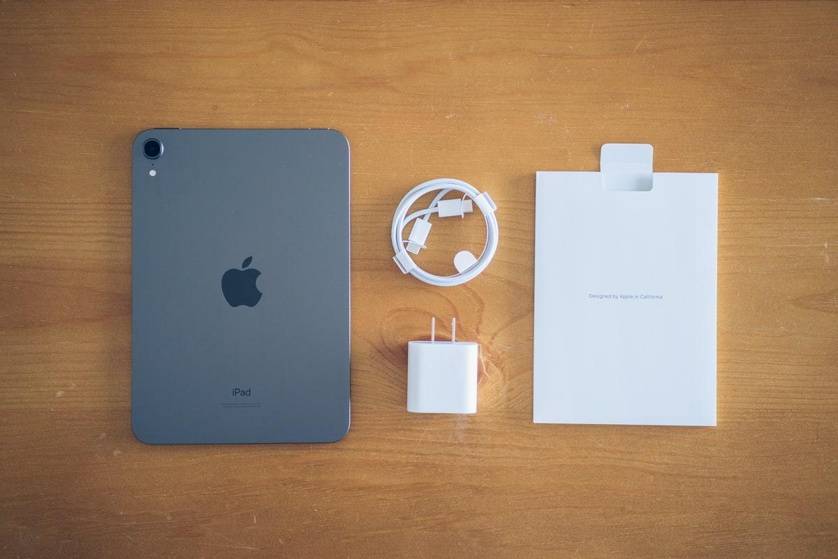 iPad mini(第6世代)の付属品一覧
