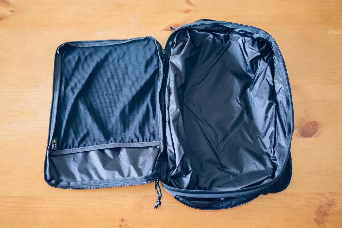 PackBagを正面から撮影した写真
